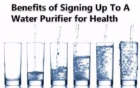 health benefits of water purifier