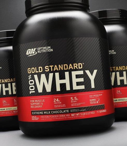 optimum nutrition whey protein