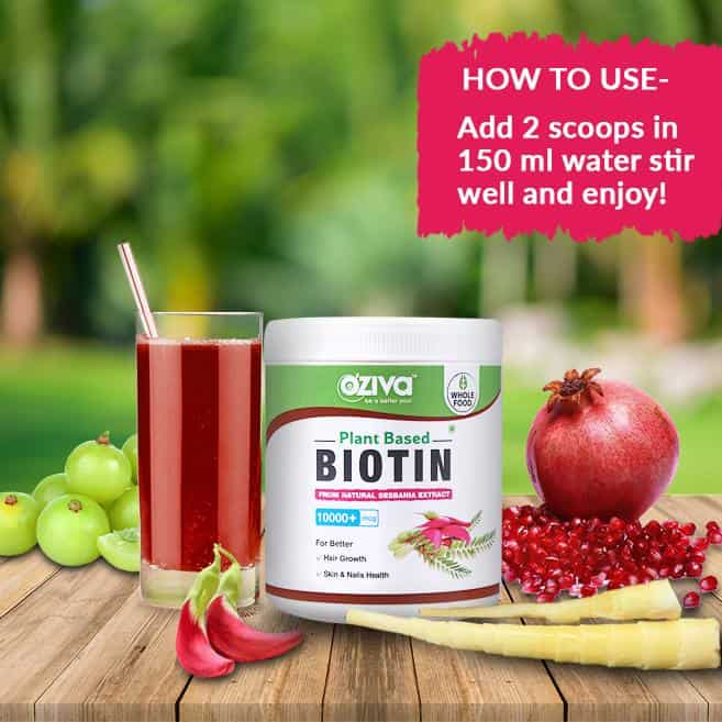 Oziva Plant Based Biotin