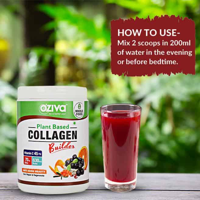 Oziva Plant Based Collagen Builder